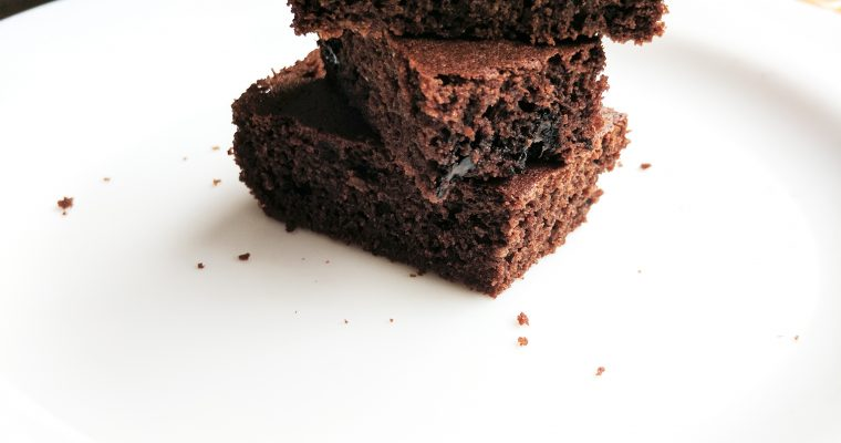 Simple Healthy Brownies- rich and gluten free