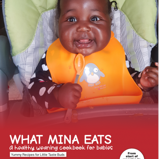 What Mina Eats- A weaning cookbook