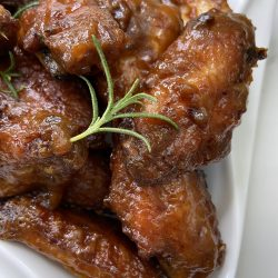Honey Mustard Sticky Wings